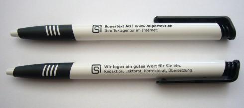 Supertext  AG Kugelschreiber