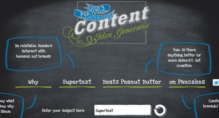 content-generator-supertext