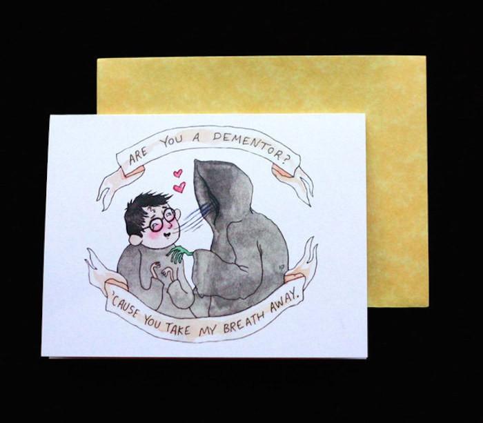 valentinstag-dementor-postkarte