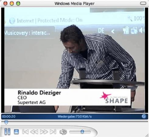Microsoft Shape Web Conference