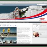 Neue Homepage von Ochsner Sport getextet