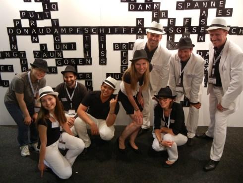 Das Supertext-Team an der SuisseEMEX