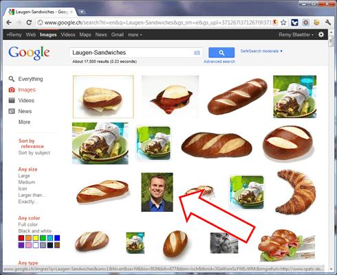 Laugen-Sandwiches