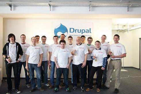 Das Drupal Translation Management Sprint Team