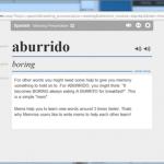 Immer Burrito essen ist langweilig. Sprachen lernen mit Online-Kärtchen nicht.