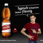 Alle Schweizer sind reich und trinken Rivella