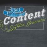 Der Content Idea Generator oder warum Supertext besser als Erdnussbutter auf Pancakes ist.