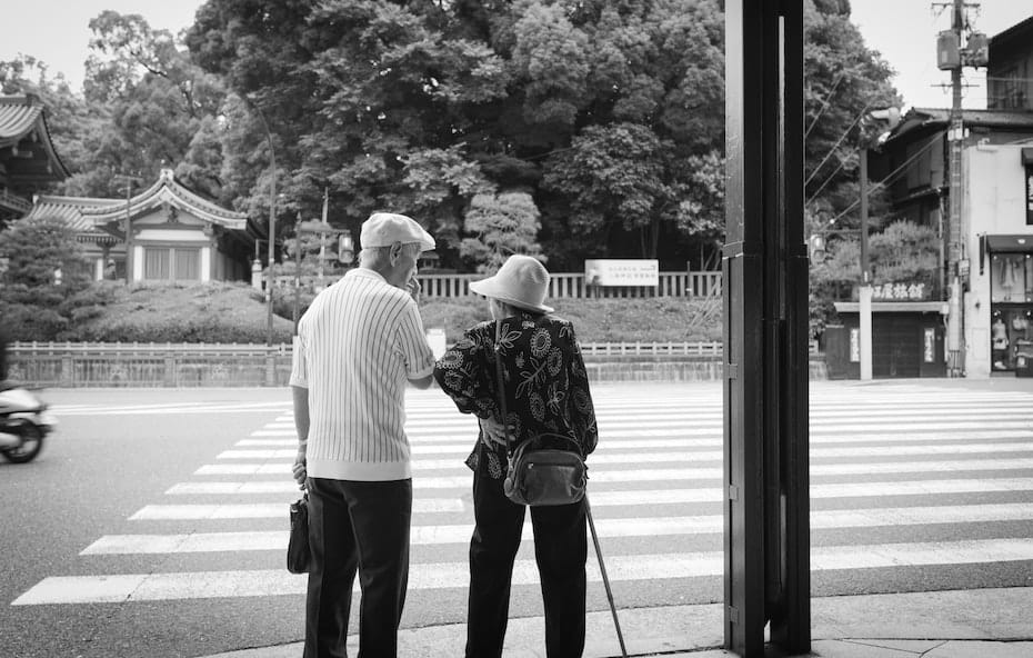 Targeting Over 65s Japan